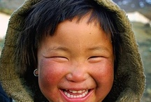Smiling Faces / Pictures that show delight / by Steve Kodad
