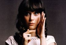 Zooey Deschanel / Zooey Claire Deschanel is an American actress, musician, and singer-songwriter. In 1999, Deschanel made her film debut in Mumford, followed by her breakout role as Anita Miller in Cameron Crowe's 2000 semi-autobiographical film Almost Famous. / by Brittney Willis