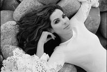Sandra Bullock / Sandra Annette Bullock is an American actress and producer. She rose to fame in the 1990s with roles in films such as Demolition Man, Speed, The Net, While You Were Sleeping, A Time to Kill, and Hope Floats. / by Brittney Willis