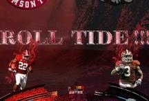 "Alabama Stuff ""Roll Tide"" / by Sandy Stclair-Mckinney"