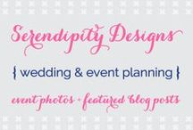 {Serendipity Designs} Wedding & Event Planning / A few favorite photos from weddings I've done, along with recent blog posts on the website! / by Serendipity Designs - Wedding & Events