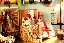 gift giving stations / by Amity Hook-Sopko
