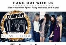 New Look loves #partyhangout / Watch our #partyhangout LIVE with Company Magazine as we answer your Christmas party style dilemmas, Thursdays from 7pm! / by New Look