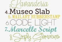 Free Fonts, Printables + Downloads / by Angie Short