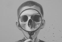 Illustration: B&W Artwork / MAJORITY Black & White   / by Killer Aesthetic