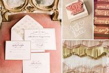 Copper Rose Gold Wedding Inspiration / #vintagewedding #vintage #weddingideas #goldwedding / by Mill Crest Vintage