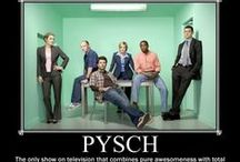Wait for iiiitttt....Psych!  / Because frankly, I'm pretty much obsessed with this show!  / by Cati Nelson
