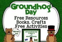School Stuff - Groundhog's Day / by Sheree Martin
