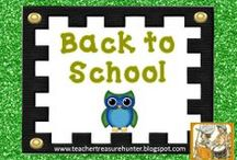 Teaching - Back to School / Back-to-school time is exciting and busy! This board has ideas for parents to prepare for sending their kids back to school and ideas for teachers as they plan for the new year.  / by Melissa Michael ~ Teacher Treasure Hunter
