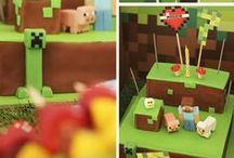 Nathan Minecraft Birthday / by Alicia Coffman Quenemoen