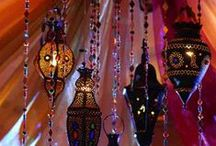 For the Home: Middle Eastern / Middle Eastern decor for bedroom. / by Amy Scheve