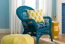 Yellow & Teal / by Rosa Rivero