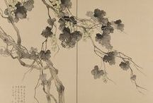 Art of sakura lands. Sumi-e. Oriental / Let the beauty of what you love be what you do. — Rumi  / by Cri