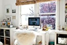 The Perfect Workspace / Inspiration for creating a fabulous workspace that keeps you focus and inspired. / by Emilee Richardson
