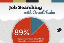 Social Media For Job Search & Recruitment / How To Find A Job Using Social Media, Social CV or Resume, Social Media For Recruitment, How HR And Employers Can Use Social Media For Hiring, Social Recruiting, Using LinkedIn Pinterest Facebook and Twitter To Find A Job or Hire An Employee #SocialMedia #Recruiting #Hiring #Jobs #HR / by Mamba Media
