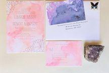 Wedding / Invite / by Anna Edwards