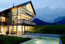 Country + Mountain Houses / by -Renata Gross- RG Art & Design