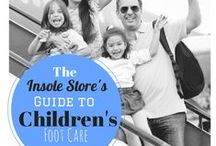 Children's Footcare Articles & Insoles / by The Insole Store.com
