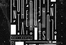DESIGN || TYPOGRAPHY / by || AHARON ||