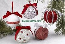 Red & White Christmas / by CraftsnCoffee