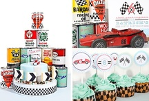 Vintage Race Car Party Inspiration / by Anders Ruff Custom Designs