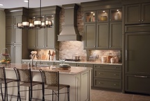 Kitchens: Classically Traditional / The warm, natural wood and refined elegance draw people in to create an authentic space where memories are made. Just the right balance of conventional grace and lived-in comfort creates your dream kitchen. / by KraftMaid Cabinetry
