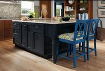 Colors & Finishes - 2012 / by KraftMaid Cabinetry