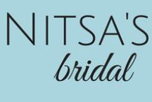 Nitsa's: Bridal Collection / Pins From Our Favorite Dress Designers That We Carry In Our Stores! Including: Amsale, Monique Lhuillier, Rivini, Anna Maier, Legends by Romona Keveza, Victor Harper, Pronovias, Kenneth Pool, Austin Scarlett, Christos, Bliss by Monique Lhuillier, Alyne by Rivini / by Nitsa's