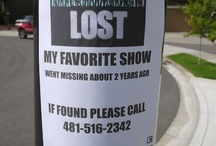 """I still miss """"Lost""""  / If I had my way none of these shows would ever be cancelled ;) / by Marcia Kingsland"""