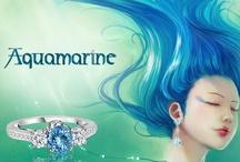 Aquamarine-my favorite and my birthstone! / by Beth Cook