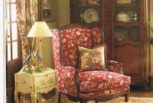 living room, den / by Cristin Pregent