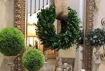 Wreaths / Ofra Weiss ,California living ,embraces personalized aesthetics and causal lifestyles with an emphasis on luxury.My boards are for personal inspiration only.Play nice. http://www.oweissdesignssite.com/website/welcome.html / by O Weiss Interior Designs Weiss Interior Designs,Ca. living