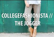 CollegeFashionista // The Jogger / We've teamed up with American Eagle Outfitters and Aerie to bring you #TheJogger24. / by CollegeFashionista