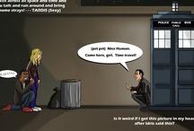 DOCTOR WHO!!! / by Rebekah Kinsman