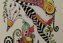 Illustrations / by Gömöri Katalin