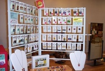 Ways to Display your art at a craft fair / by Jill Simonds
