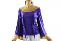 Worship Praise Dance Wear / Body Wrappers, worship dance dress, praise dance dress, tops and skirts, liturgical dance robes, scarves, flags and streamers for worship dancing / by danzia.com