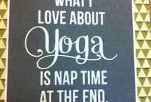 Yoga / by Tami Hackbarth // TGBTS// The Healthy Happy Sane Teacher