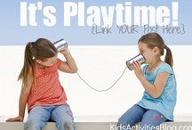 Link Up Parties - Kids Activities  / A one stop resource for parents, educators and caretakers to access the many amazing link up parties that contain kids activities and ideas!  / by Marnie of Carrots Are Orange - Montessori Living and Learning