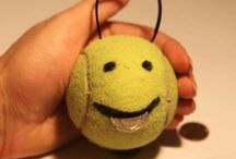 Uses for old tennis balls / Don't trash them. Recycle! / by USPTA