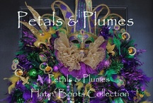 MARDI GRAS / by Petals & Plumes- Angie Etheridge(owner/designer)