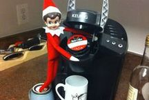 Elf on the Shelf - Gagoo / The adventures of our Elf (Gagoo), who is rarely on a shelf... / by Heather Hurd