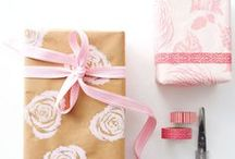 Celebration ❋ The Magic of Gifting and Wrapping / easy, DIY and super gift ideas plus pretty and awesome wrapping | #gift #giftidea #wrapping #DIY #crafts / by Agnes Turi