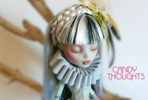 Art Dolls, Barbie,.Monster high, Blythe , and other dolls ..... / by Phyllis Elliott