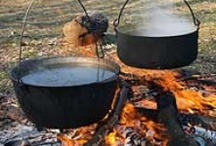 Dutch Oven, Camp & Cast Iron Cooking / by Belliacres Homestead