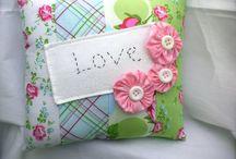 Pretty pillows / by Pam Ludwin