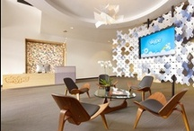 Office Interiors | Reception design / by Samantha Bronson