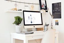 Home Office/Studio / Home offices and studio spaces.  / by Nicole Tattersall