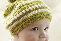 Crochet...Kids Hats Caps  & Infants / by Kitty Durbin