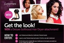 Get the Look with Curlformers / Pin your before and after looks and include 'Get the Look with #Curlformers' as the description and we'll re-pin them here! For inspiration, visit www.curlformers.com/how-to  / by Curlformers